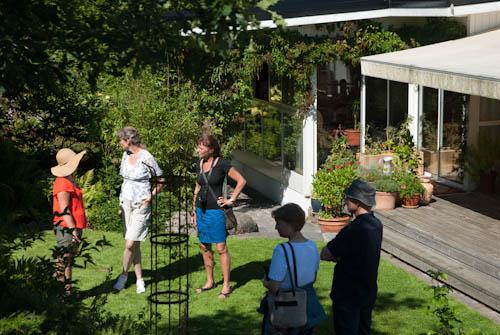Dagen bjöd på många spännande och inspirerande trädgårdssamtal. Trädgårdsmänniskor är ett trevligt folk!
